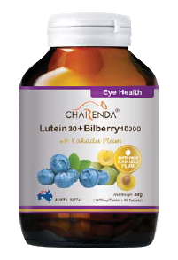 Charenda 齊樂達 葉黃素30+藍莓素10000 添加卡卡杜李
