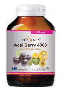 Charenda 齊樂達 巴西莓4000濃縮精華片 添加卡卡杜李