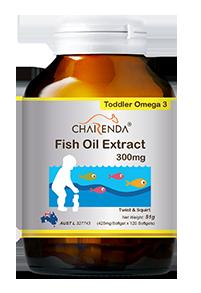 Charenda 齊樂達 高純度DHA幼兒魚油軟膠囊 300mg