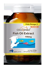 Charenda 齊樂達 高純度DHA兒童魚油軟膠囊 700mg