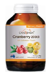 Charenda 齊樂達 蔓越莓20000 濃縮精華片